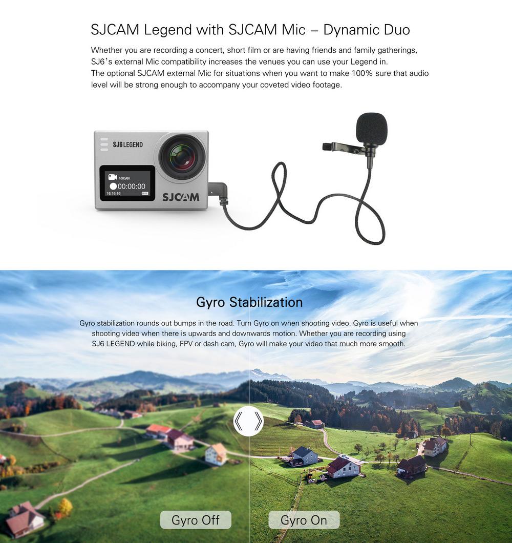 SJCAM SJ6 kamera