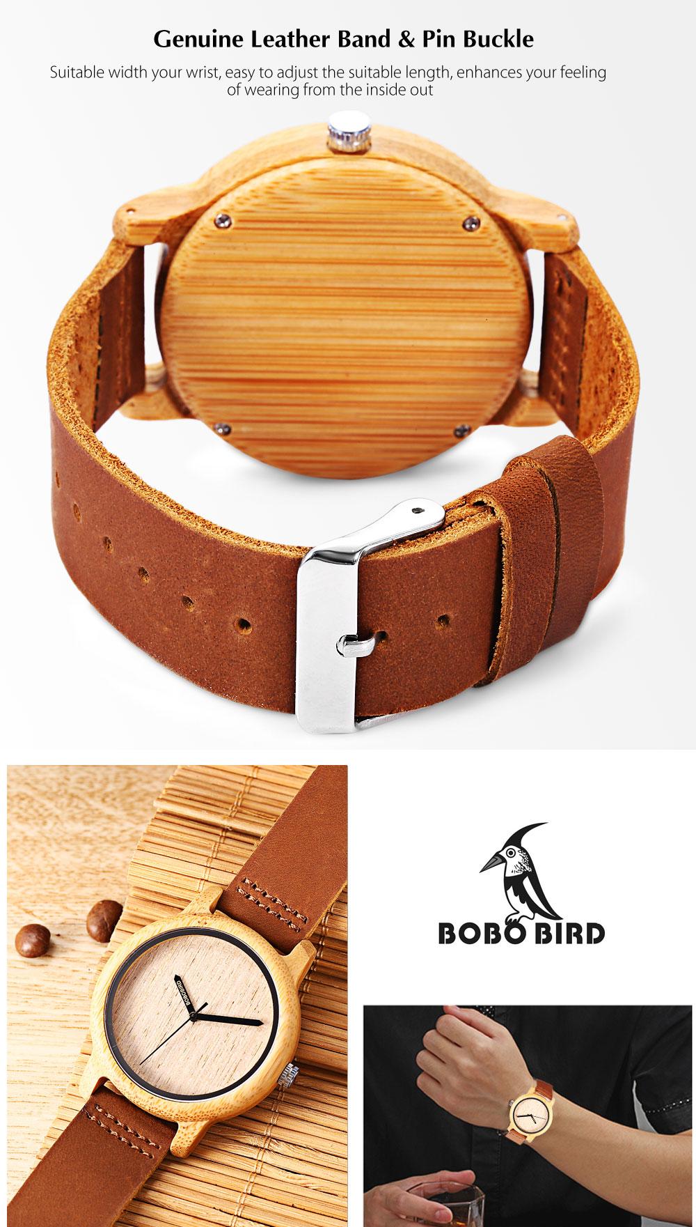 BOBO BIRD A22 unisex Quartz karóra - Barna - Férfi óra - A-Z ... c8e68129bf