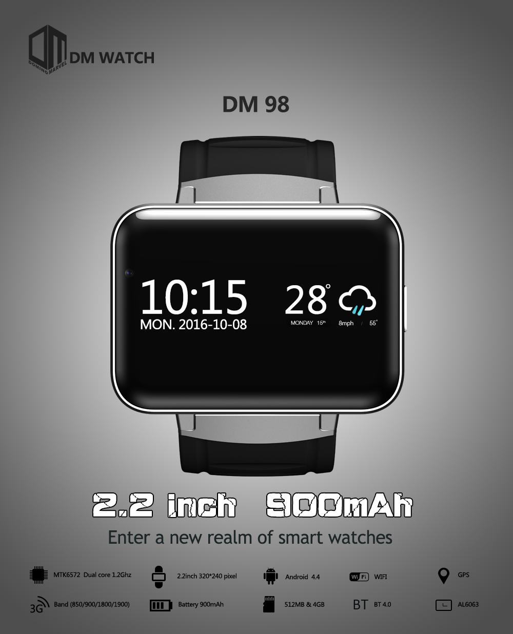 DOMINO DM98 okosóra telefon