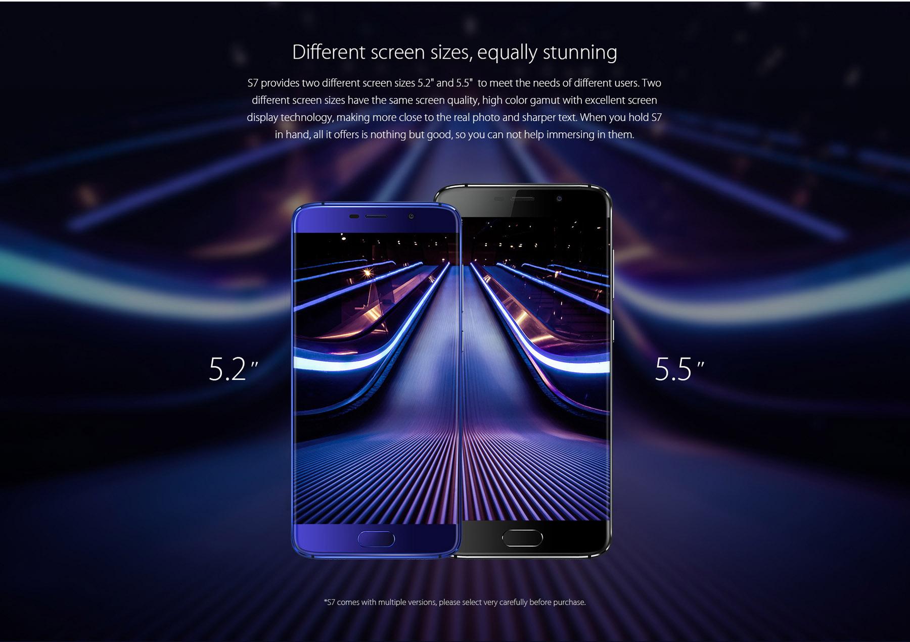 Elephone S7 okostelefon