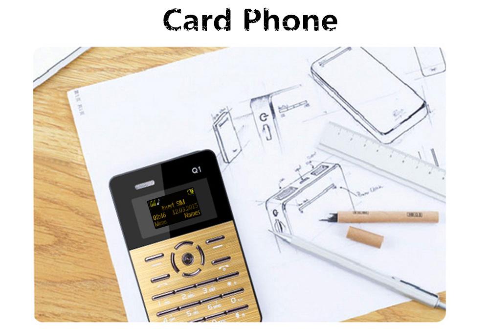 AIEK Q1 mobiltelefon