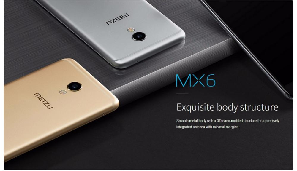 Meizu MX6 okostelefon