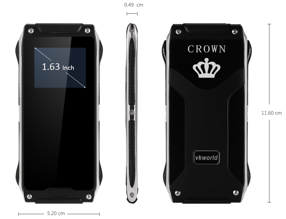 VKworld Crown V8 telefon