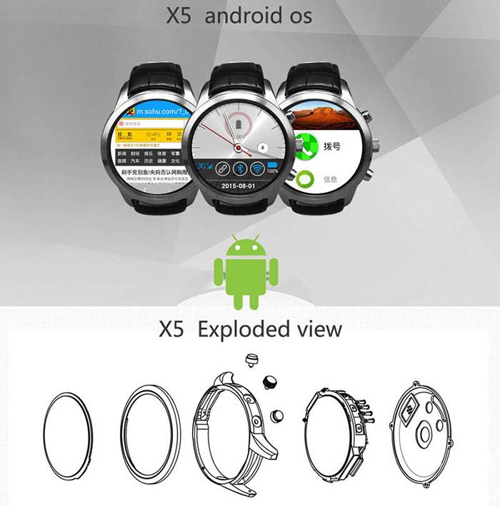 FINOW X5 okosóra telefon