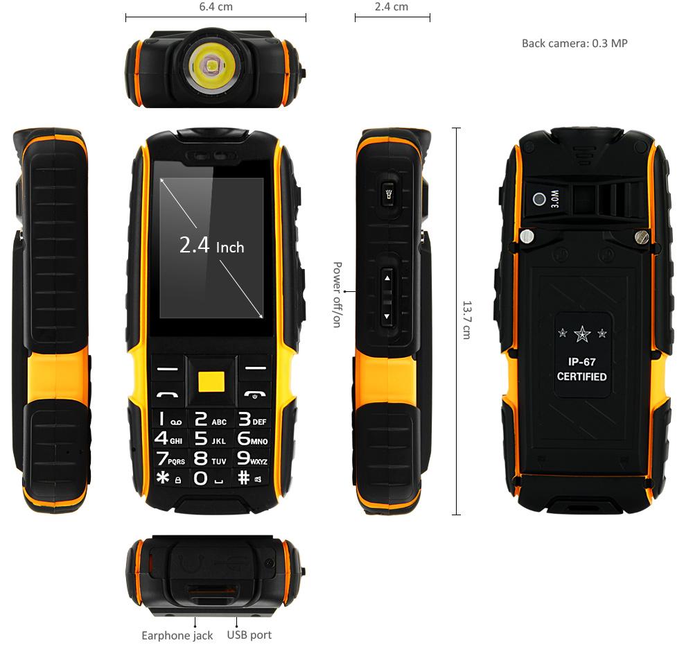 X6000 Mobiltelefon