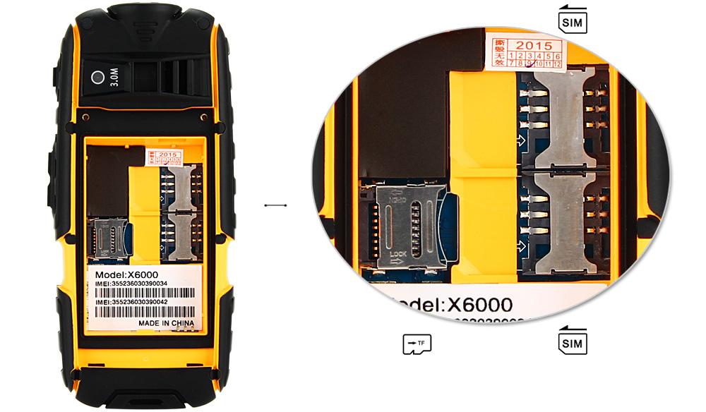 G9000 Mobiltelefon