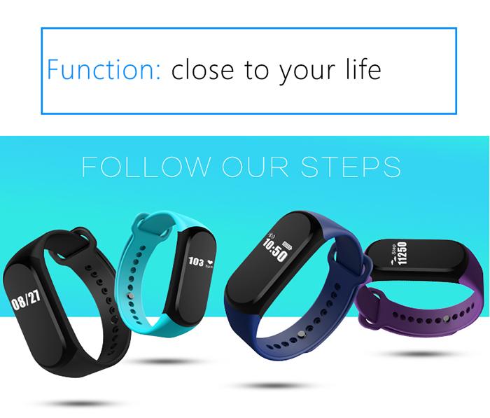 A16 Heart Rate Smart Bracelet
