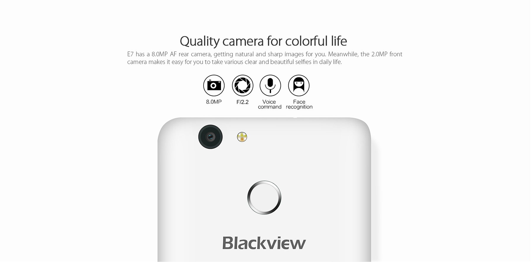 Blackview E7 okostelefon